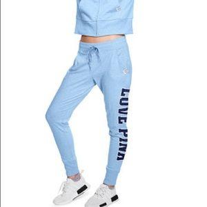 PINK Victoria's Secret jogger sweatpants blue smal
